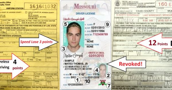 A Definitive Guide to the Missouri Driver's License Points System - Hamilton & Associates Lawyers