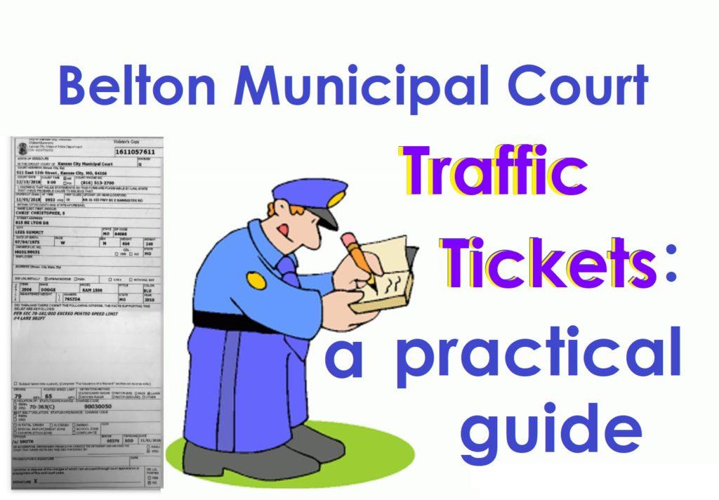 Belton Municipal Court Traffic Tickets: A Practical Guide